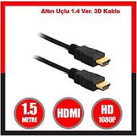 1.5 Metre  V2.0  Vers Gold Hdmi Kablo -1660