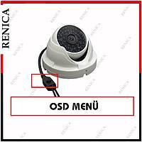 Renica Hd-B789 4 MP 48 led 6 mm Metal Dome Kamera-1712R