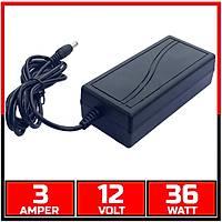 12V  3 Amper  DVR Kayýt Cihazý ve Kamera Adaptörü /  1092