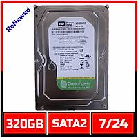 320 GB Western Digital  7200RPM AV-GP WD3200AVVS  7/24 Güvenlik Diski  (6 Ay garantili)- 1721