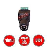 Güvenlik Kamerasý Diþi Güç Jacký  / 1250
