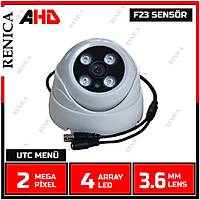 Renica  HD-A292 2 MP 3.6 MM Lens 4 Array Led AHD Plastik Dome Kamera-1737R