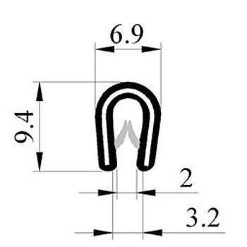 M300001400 Saçlý Profil