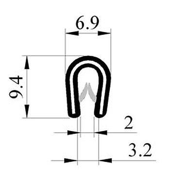 M300003200 Saçlý Profil