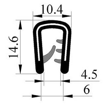 M300004300 Saçlý Profil
