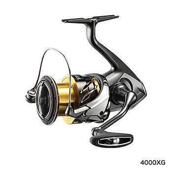 SHIMANO TWIN POWER FD 4000XGFD 9+1 BB 6.2:1 TUR 11 KG DRAK