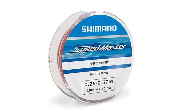 SHIMANO SPEEDMASTER TAPARED SURF LINE 0,26-0,57MM 220 MT