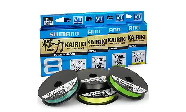 SHIMANO KAIRIKI MULTI COLOR 0,215 MM 300 MT 20,8 KG ÇEKER