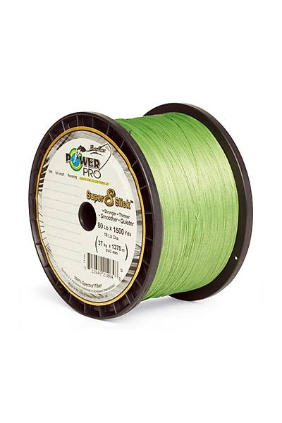 POWER PRO 135 MT SUPER 8 SLICK 0,15 MM 10 KG AQUA GREEN