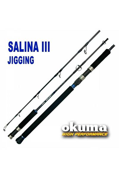 Okuma Salina III 168cm 150-250 gr Atarlý Ýki Parçalý Jig Kamýþý