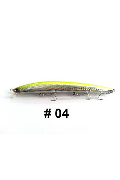 Kendo Seabass Minnow 14.5cm 19,7g Floating Suni Yem