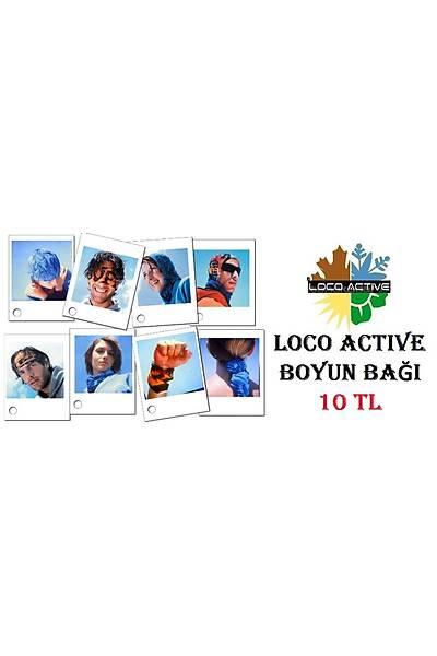 Loco Active  Çok Amaçlı Boyun Bağı