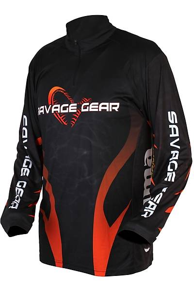 Savagear Tournament Jersey Uzun Kol Sweat