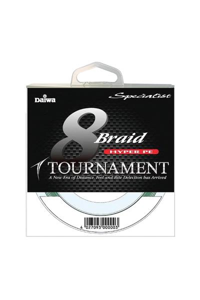 Daiwa Tournament 8 Braid Specialist Serisi 300m Ýp Misina 0.12mm