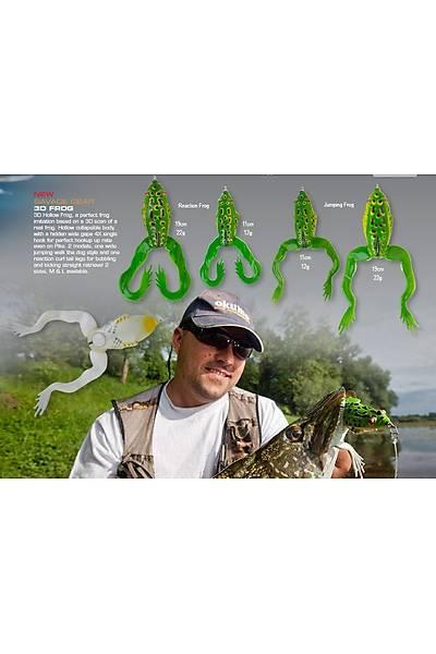 Savagear 3D Jumping Frog 11cm 12g F Green