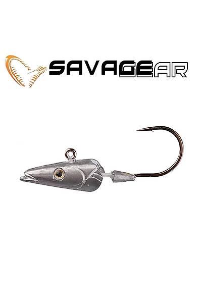 Savagear Sandeel Jig Head 42 gr 6/0 Ýðne