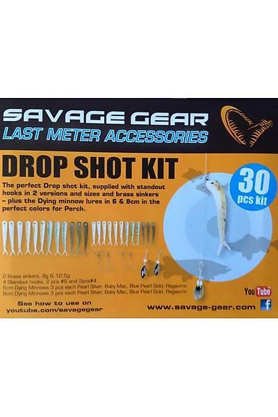Savagear Dying Minnow Drop Shot Pro Pack Kýt 30 Pcs