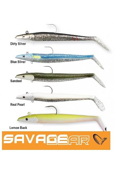 Savage gear Sandeel 16 cm 42 gr 2+1 Adet