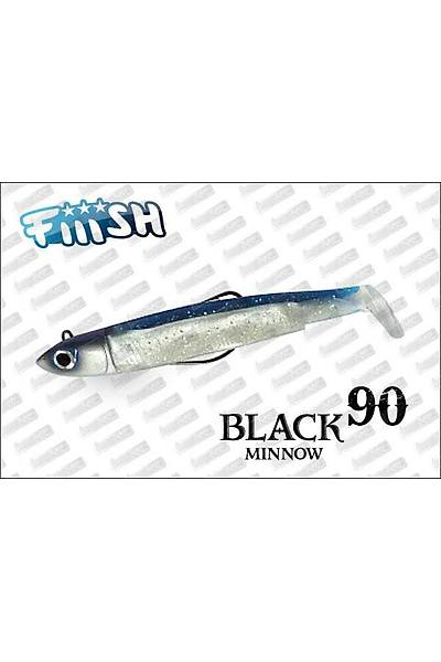 Fiiish Black Minnow combo 90 Blue Paýlette 10GR