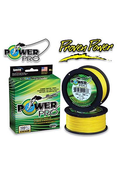 POWER PRO 275 MT 0,43 MM 48 KG HI-VIS YELLOW