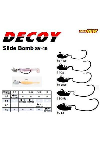 DECOY SV-45 SLIDEBOMB #2-5,0GR