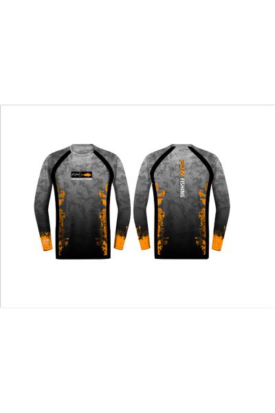 Fujin Performance T-Shirt Camo Orange