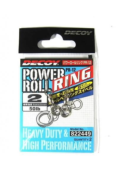 DECOY PR-12 POWER ROLL RING  RULMANLI HALKA