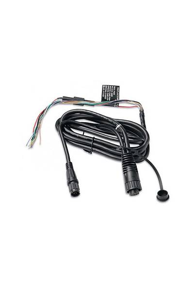 Garmin 400-500 Serisi GPS & Balýk Bulucu Ýçin Güç/Veri Kablosu 010-10918-00
