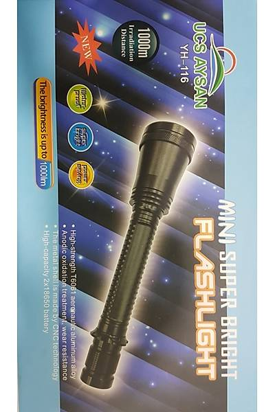 UCS AYSAN YH 116 13W Cree Led 1000 Metre  Mesafeli Tüfek Feneri