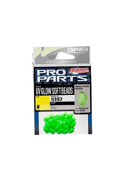 OWNER Pro Parts uv glow soft beads Fosforlu Boncuk