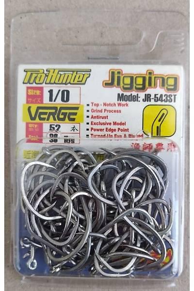 Pro Hunter Verge Ringed (K39) JR-543ST Jigging Hooks-Bullpack Ýðne