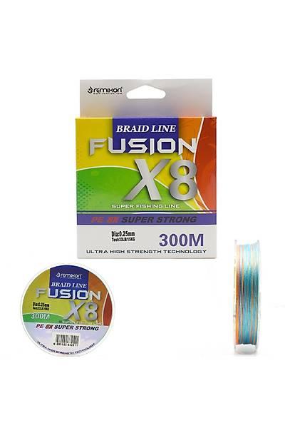 Remixon Fusion 300M X8  Multi Color Ýp Misina (FU300M8MC16)
