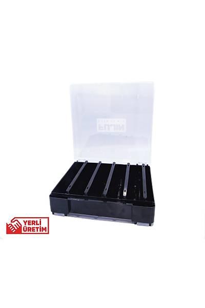 Fujin Tackle Box FTB145DS Çift Taraflý Maket Balýk Kutusu