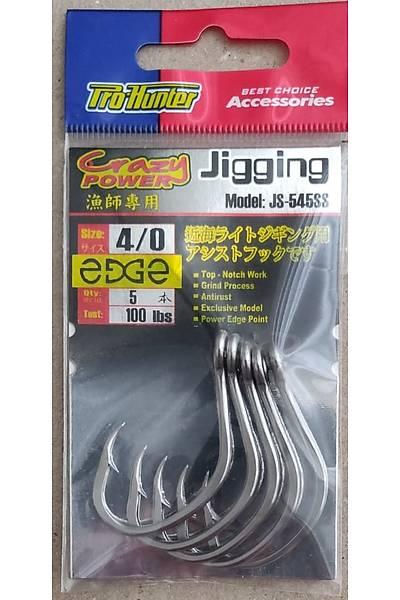 Pro Hunter Jigging Edge hook JS-545SS Ýðne
