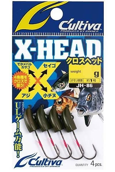 Cultiva X-Head Jh-86 Lrf Jig Head