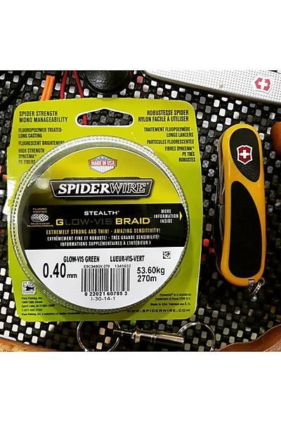 Spiderwire Glow-Výs Braýd 0.40mm 53.60kg 270m