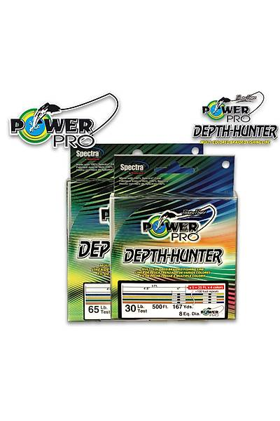 POWER PRO DEPTH HUNTER 300 MT 0,15 MM 9 KG MULTI-COLORED