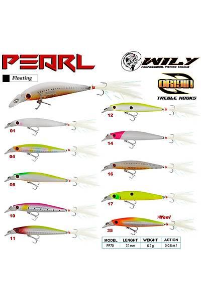 Wily Pearl 7 cm Maket Balýk 5.2 gr (0-0.8M)