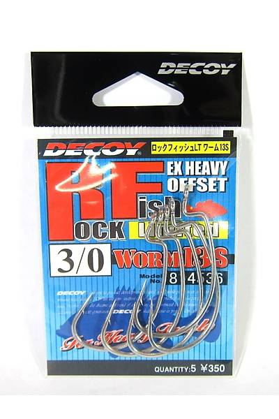 DECOY WORM13S ROCK FISH LIMITED #1