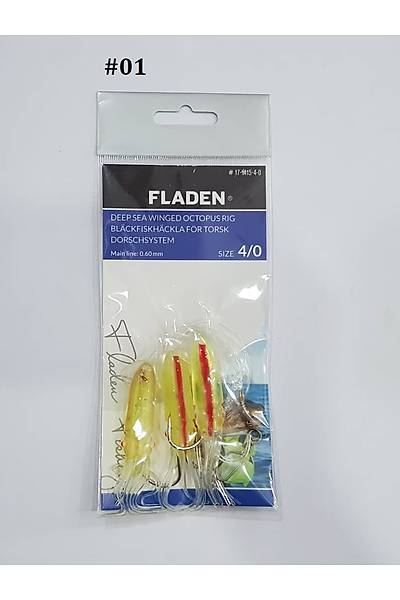 Fladen Deep Sea Octopus Rig 4/0  #01