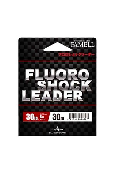 YAMATOYO FLUORO SHOCK LEADER 30m 0,74 MM