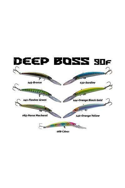 Fujin DeepBoss 90F 9.5gr Maket Balýk