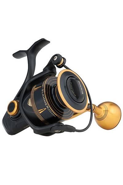Penn Slammer SLAIII 7500 Spin Olta Makinesi Black Gold