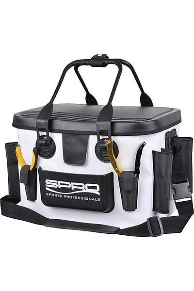 SPRO EVA TACKLE BAG WHITE 40X26X25CM