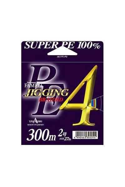 YAMATOYO PE JIGGING 4 300m PJ4/45 Lbs Ýp Misina