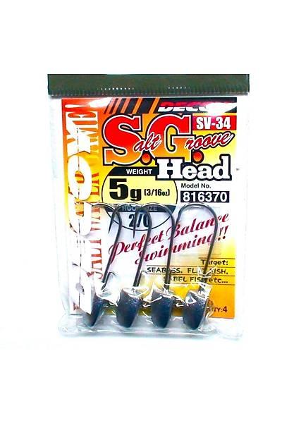 Decoy S.G sv-34 Jig Head 5/0 28gr