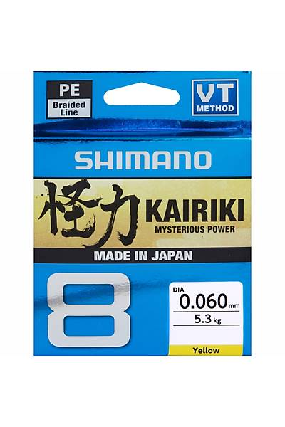 Shimano Kairiki 8 300 m Steel Gray 0.070mm/4.5 kg