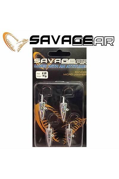 Savagear Sandeel Micro Jig Head 7 gr #2numara 4 Adet