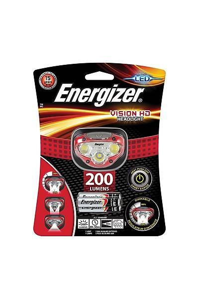 Energizer Vision HD HeadLight 200 Lumens