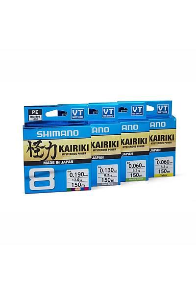 Shimano Kairiki 8 150m Steel Gray 0.130mm/8.2kg